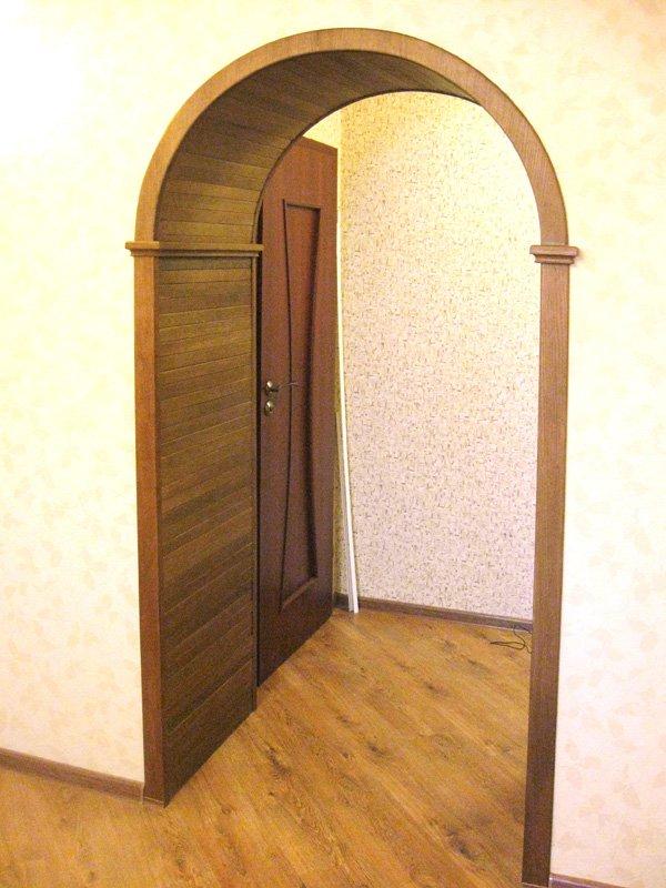 Как сделать дверь если арка